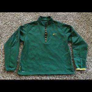 Nike Livestrong 1/4 Zip Jacket Mens XL Green